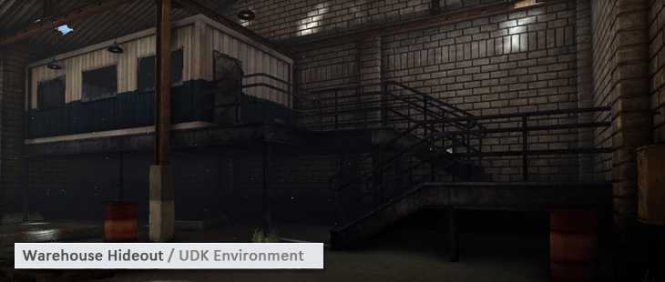 Warehouse Hideout / UDK Environment